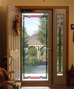 Decorator 590 SYN Full View Inspirations Synergy Glass Storm Door